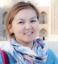 Aisha Mambetalieva Kyrgyzstan